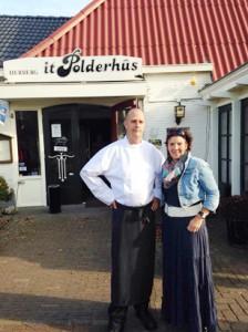 Bonnie Sikkes en Herma Sikkes restaurant It Polderhus