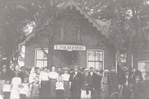 Het eerste Polderhûs later restaurant